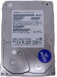"Hitachi Deskstar Internal  1TB Hard Drive 7200RPM 3.5"" HDD Disk HDE721010SLA330"