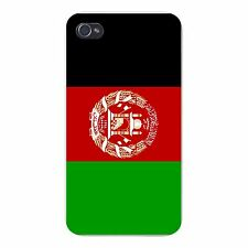 Afghanistan World Country National Flag FITS iPhone 4 4s Snap On Case Cover New