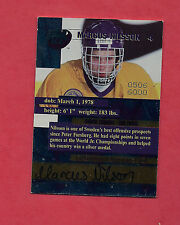 RARE 1996 TEAM SWEDEN MARCUS NILSON AUTOGRAPH 0506/6000 CARD