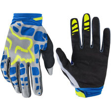 FOX RACING WOMENS WMN DIRTPAW MOTOCROSS MX BIKE GLOVES ADULT - GREY / BLUE