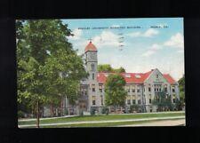 1951 Bradley University Horology Building Peoria Illinois Postcard