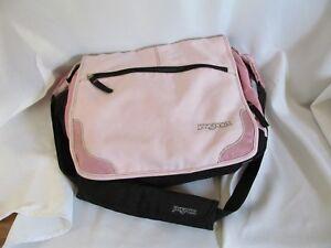 Jansport Messenger Bag Backpack Bookbag Laptop Briefcase