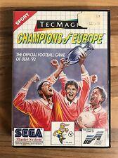 Champions of Europe-Sega Master System-Pal