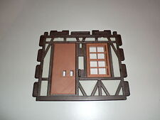 Playmobil Knight's Castle Timber Frame Wall Door Window 3666 3450