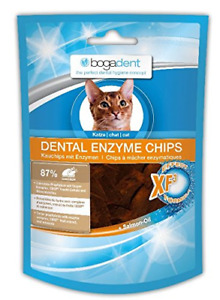 2 x Bogar AG Bogadent Dental Enzyme Chips for Cats, 50 g FREE P+P