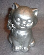 old cast iron cat still bank