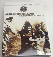 Akira Kurosawa - 2002 Criterion Collection 4 Movie Set Yojimbo Seven Samurai +2