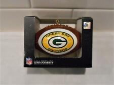 "New Licensed Green Bay Packers Football 4"" Christmas Ornament S133"
