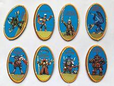 Fuera de imprenta advanced heroquest completo conjunto de 6 muñecos de carácter brotes de patata Hero Quest Azul