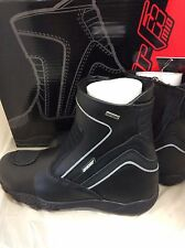 JOE ROCKET METEOR MID WATERPROOF TOURING MOTORCYCLE LEATHER BOOTS MENS SZ 11 U.S