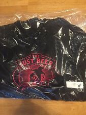 California Fleece American Apparel The Just Beer Project Black Hoodie X-Large