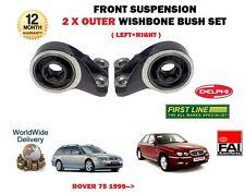 para MG Rover 75 1999- > NUEVO Izquierdo + Derecho Eje delantero 2x EXTERIOR