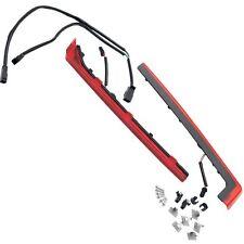 Tour-Pak Wrap-Around Red Lense Side Light Kit Fit For 06-17 Touring&Trike Bikes