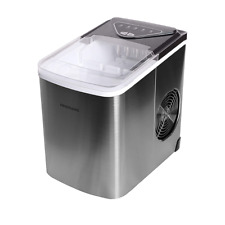 Frigidaire Stainless-Steel Bullet-Shaped Ice Maker 26-lb. Capacity Efic123-Ss