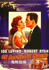On Dangerous Ground (1951) - Ida Lupino, Robert Ryan - DVD NEW