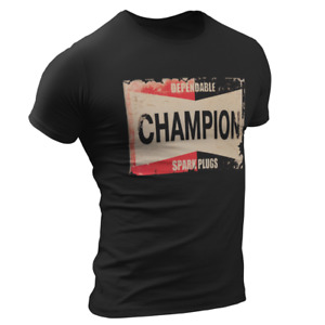 Vintage Champion Zündkerzen Herren T-Shirt