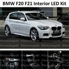 PREMIUM BMW 1 SERIES F20 F21 2011-2020 INTERIOR WHITE LED LIGHT BULB UPGRADE KIT