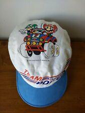 82015f9edd8 RARE Vintage 1990 Official Team Nintendo Power Super Mario Bros Baseball Cap  Hat