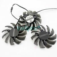 1pcs For Gigabyte GTX580ti 980ti 1070ti 1080ti 970 960 1060 RX580 Cooling fan
