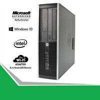 HP Compaq 6200 SFF Desktop Computer Core i5-2400 16GB RAM 256GB SSD WINDOWS WiFi