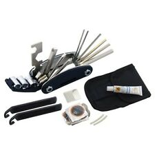 Bicycle Repair Tool Kit Bike Cycling Puncture Multi Function Fix Set with Pouch