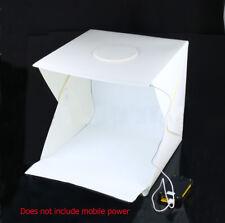 16'' Photo Studio Shooting Led Lighting Tent Kit Portable Mini Cube Box Soft Box
