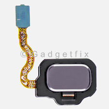 US Gray Home Button with Flex Cable Replacement Parts For Samsung Galaxy S8 Plus