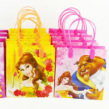 Beauty and The Beast Candy Loot Bags Goody Treat Boxes Party Favor Bella Bestia