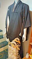 Beautiful Vintage Handmade Silk Japanese Kimono Robe from 40's, 50' Era