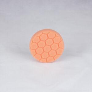 Chemical Guys HEX-LOGIC Medium to Heavy Cutting Pad 100mm - Orange (4 Inch)