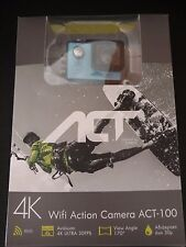 TURBO-X  4K ULTRA WIFI ACTION CAMERA ACT-100  WATER RESISTANT
