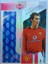 2003 Upper Deck Manchester United LAURENT BLANC Playmaker Signatures Auto_5 Only