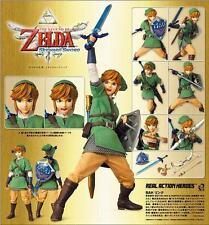 Zelda Real Action Heroes Link Figure NEW