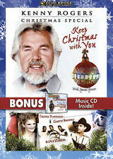 Kenny Rogers Christmas Special: Keep Christmas with You DVD w/Bonus CD Brand New