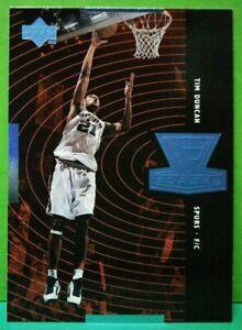 Tim Duncan insert card Forces 1998-99 Upper Deck #F17