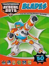 Transformers Rescue Bots Blades Sticker Activity BRAND NEW BOOK (Paperback 2014)