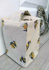 Bee Fabric Door Stop Wedge Linen Feel Unfilled Handmade Stopper Gift Idea
