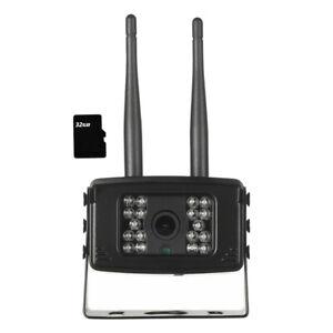 4G SIM Card HD 1080P Wireless IP Camera Remote Monitoring WiFi Motion Detect Use