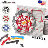 160/180/203mm MTB Bike Floating Disc Brake 6Bolts Rotor PM/IS Disc Brake Adapter