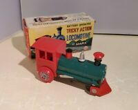 Marx Toys Battery Operated Tricky Action Locomotive Train w/ Original Box TESTED
