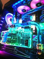 Gaming PC Asus Zenith II Extreme, AMD Ryzen Threadripper 3970X NVIDIA RTX TITAN