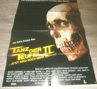 A1 - Filmplakat ,Tanz der Teufel II - (USA, 1987) F Sam Raimi , Horror