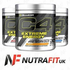 CELLUCOR C4 EXTREME ENERGY pre workout creatine caffeine alanine ginseng 300g