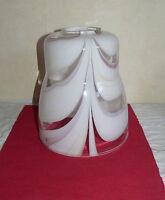 Globe,opaline,verre, Lampe électrique,pétrole,lustre,TARGETTI  77 mm 336006