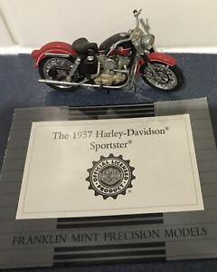 Franklin Mint Harley Davidson 1957 Sportster 1:24