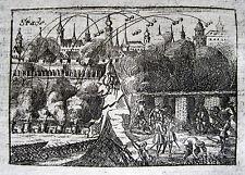BELAGERUNG STADE 1712 GROSSER NORDISCHER KRIEG STACKELBERG GREAT NORTHERN WAR