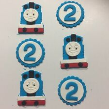 Thomas The Tank Engine Edible Cup Cake Topers With The Number X12