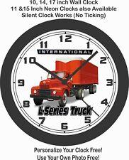 1950 International L-Series Truck Wall Clock-Free USA Ship