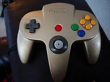 Official Nintendo 64 Gold Controller