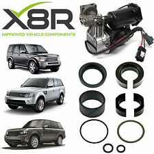 LAND ROVER RANGE ROVER SPORT AIR COMPRESSOR REPLACEMENT PISTON SEALS REBUILD KIT